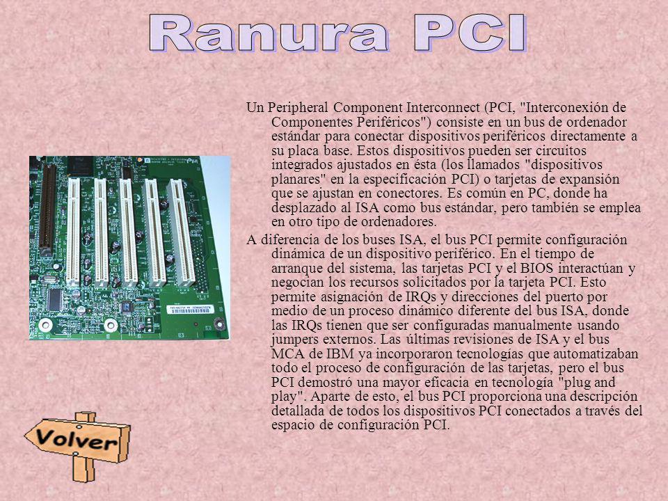 Un Peripheral Component Interconnect (PCI,