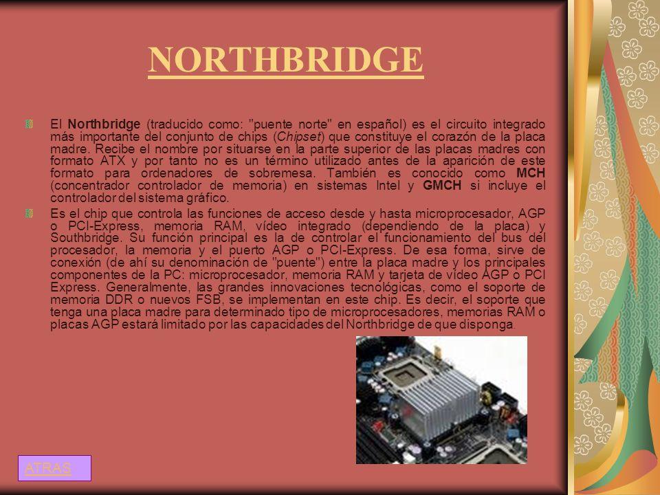 NORTHBRIDGE El Northbridge (traducido como: