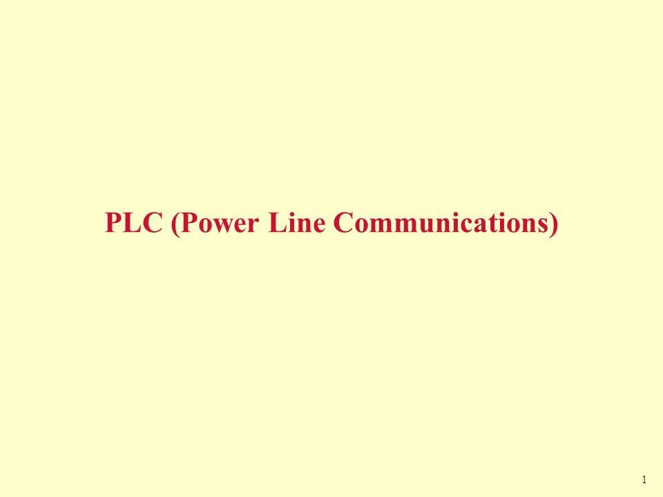 1 PLC (Power Line Communications)