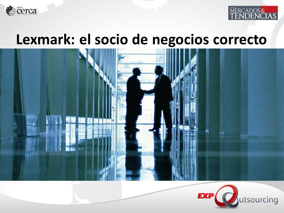 Lexmark: el socio de negocios correcto