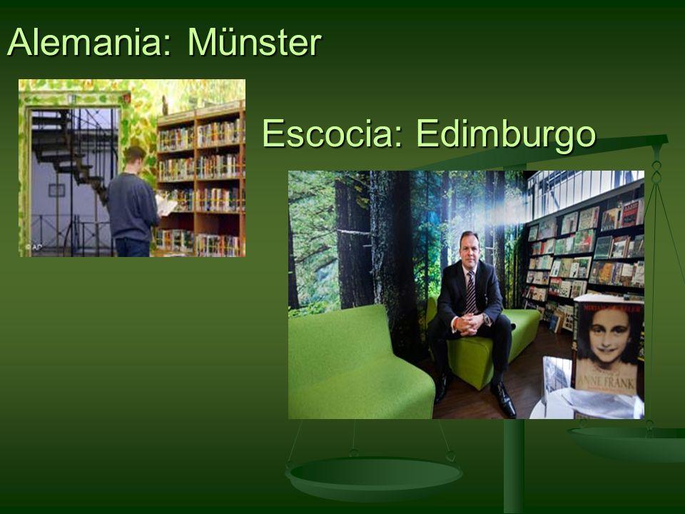 Alemania: Münster Escocia: Edimburgo