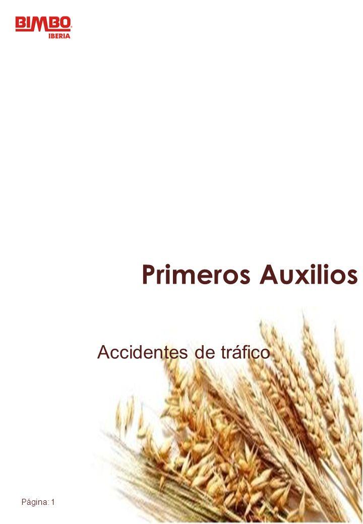 Página: 1 Accidentes de tráfico Primeros Auxilios