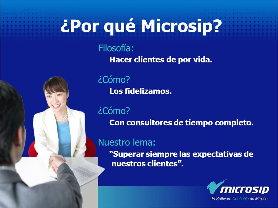 Productos Banorte - Microsip Crediactivo – Microsip.- Desde febrero de este año, hemos manejado casos en donde Banorte otorga créditos (Crediactivo) para que las empresas inviertan en proyectos de tecnología con Microsip.