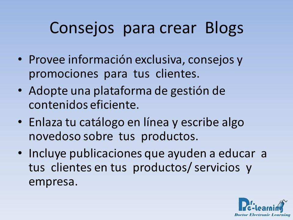 Provee información exclusiva, consejos y promociones para tus clientes. Adopte una plataforma de gestión de contenidos eficiente. Enlaza tu catálogo e
