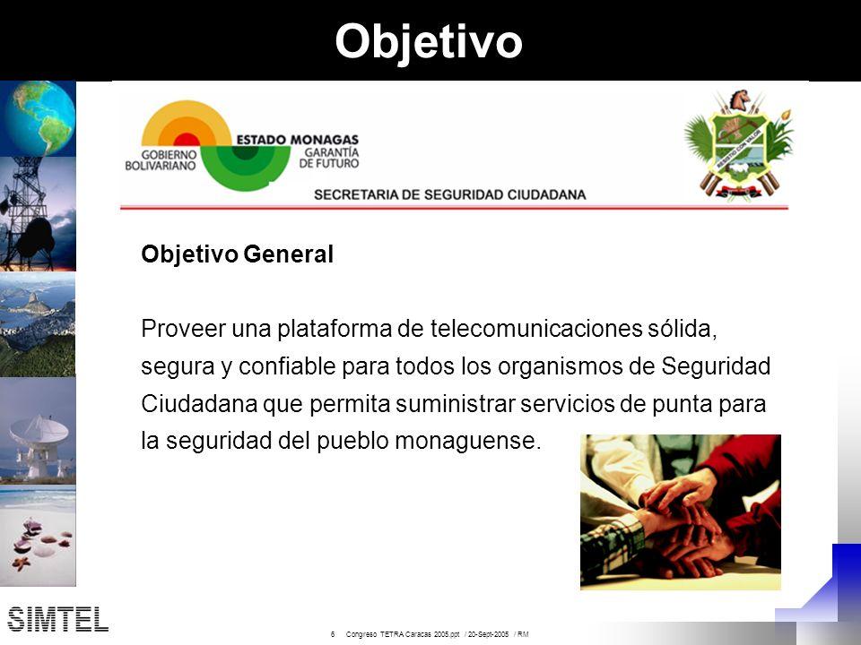 17 Congreso TETRA Caracas 2005.ppt / 20-Sept-2005 / RM Nuevas ventajas Operacionales ¿ Cuáles ventajas nuevas traerán las aplicaciones de datos .