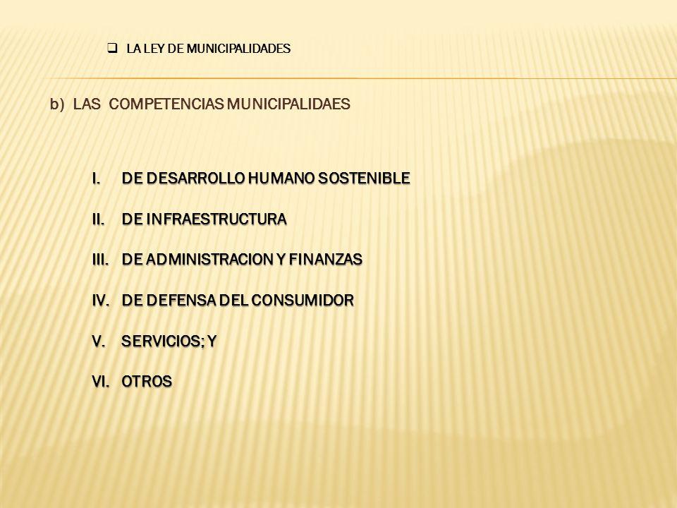 ARTICULO 8º Establece LA LEY DE MUNICIPALIDADES I.
