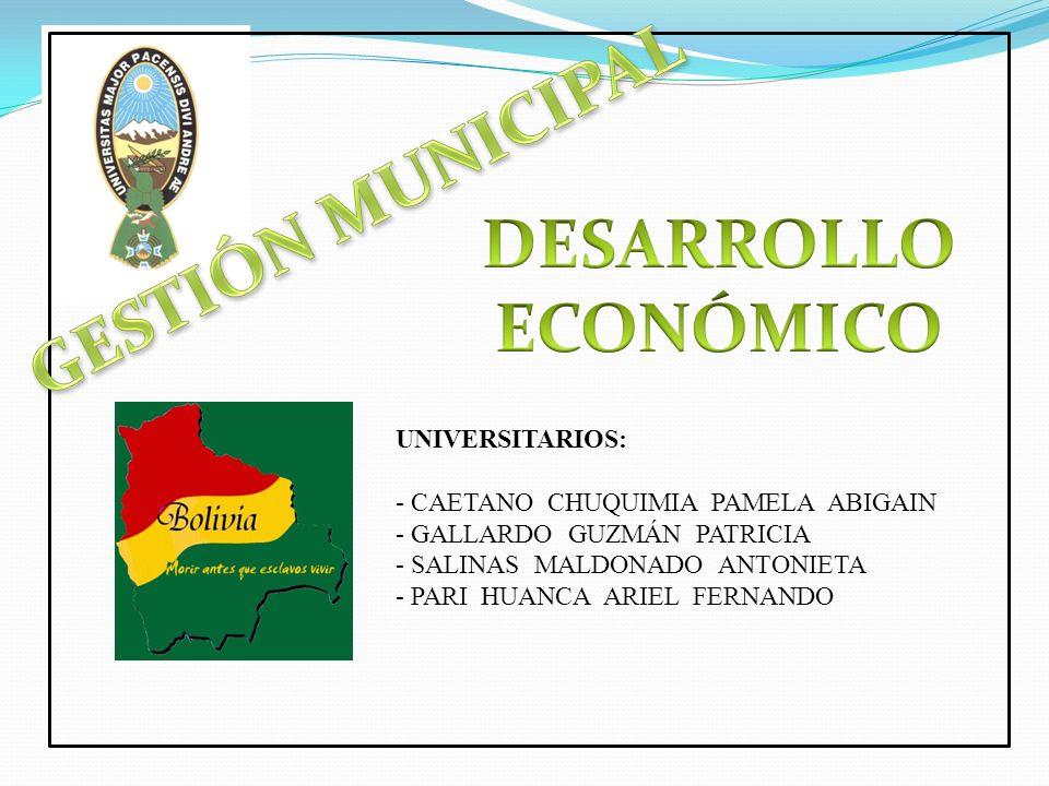 a) Las finalidades de la municipalidad y el gobierno municipal.