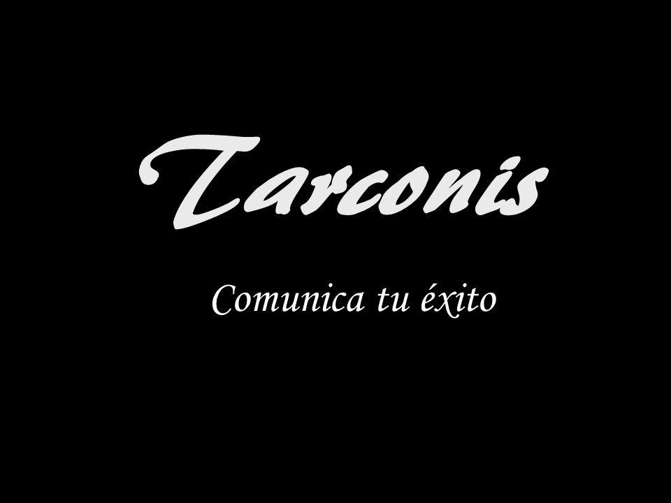 Tarconis Comunica tu éxito
