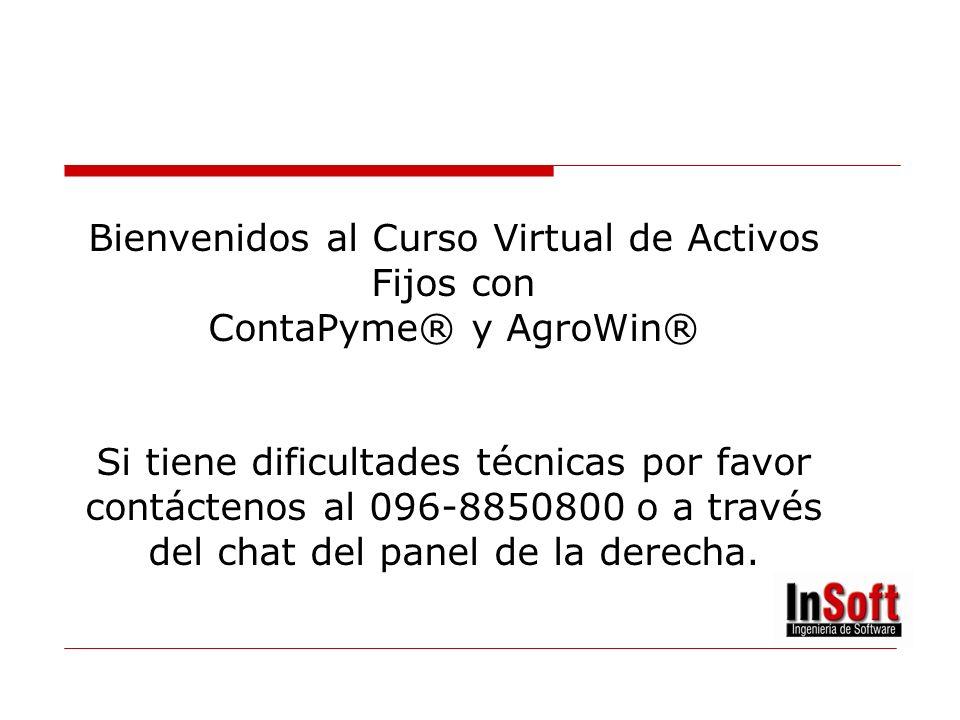 ACTIVOS FIJOS Profesor: Ing. Alejandro Toro Duración: 3 Horas ¡Bienvenidos!