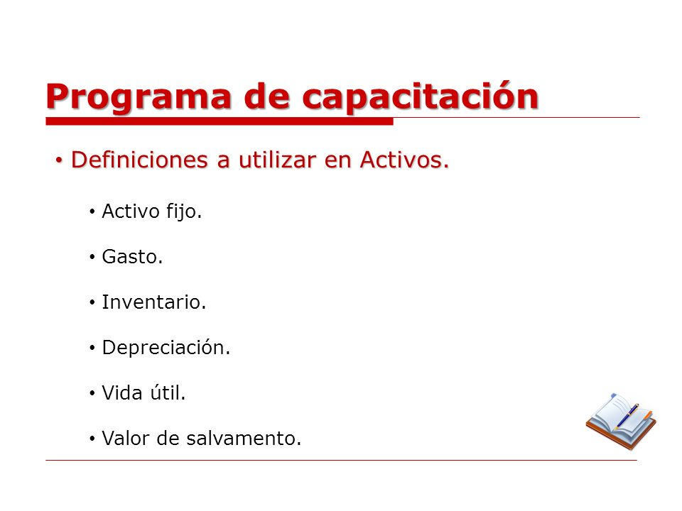 Programa de capacitación Operaciones de automatización de activos.