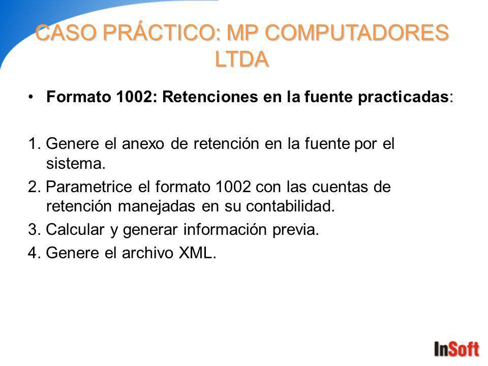 Formato 1001: Pagos o abonos en cuenta a terceros: 1.