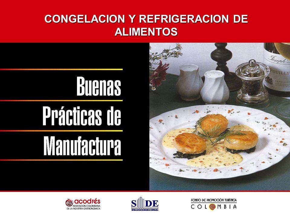 CONGELACION Y REFRIGERACION DE ALIMENTOS