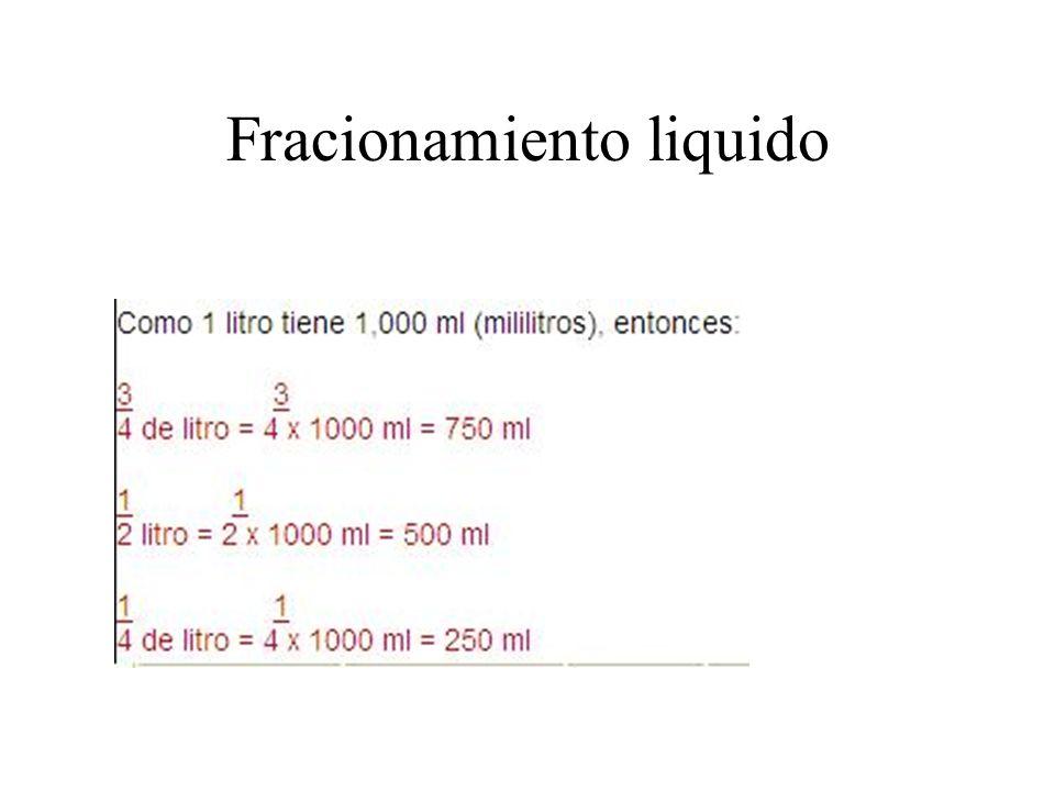 Fracionamiento liquido