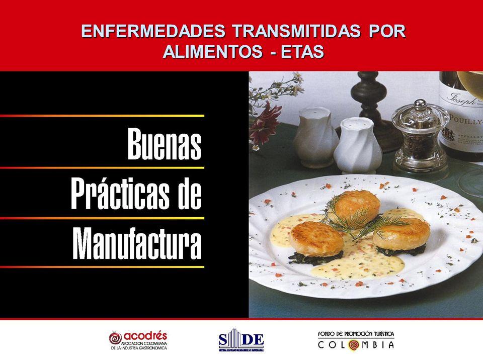 ENFERMEDADES TRANSMITIDAS POR ALIMENTOS - ETAS