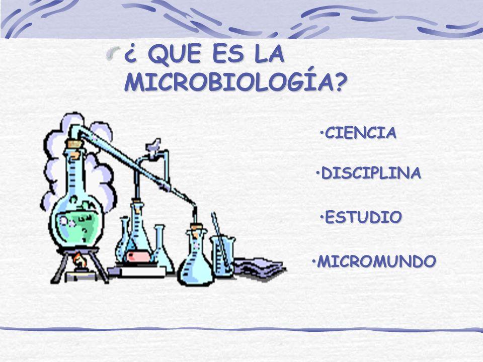 Microbiología general y de alimentos.