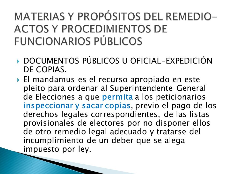 DOCUMENTOS PÚBLICOS U OFICIAL-EXPEDICIÓN DE COPIAS.