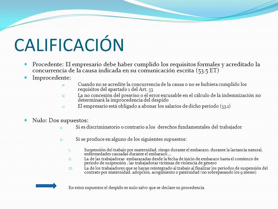 REVISIÓN JUDICIAL 53.3 ET-120 LPL El trabajador afectado puede impugnarlo como si se tratara de un despido disciplinario La acción está sujeta a un pl