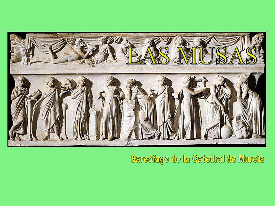 Las alumbró en Pieria, amancebada con el padre Crónida, Mnemósine, señora de las colinas de Eleuter, como olvido de males y remedio de preocupaciones.