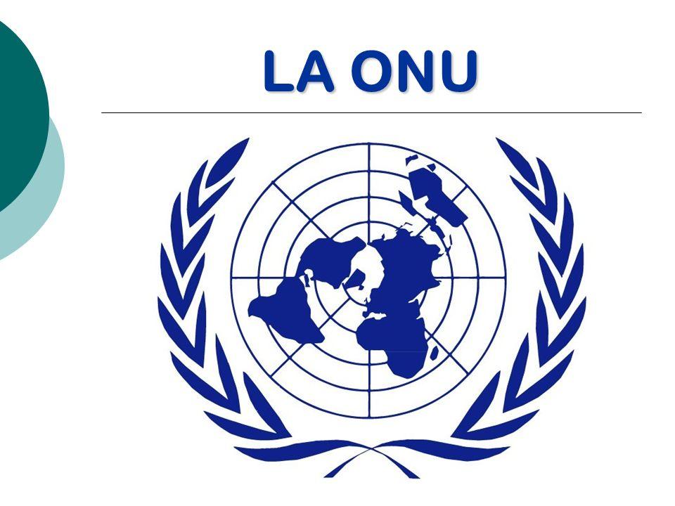 ÍNDICE 1.¿Qué es la ONU?¿Qué es la ONU.