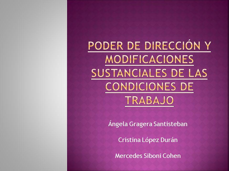 Ángela Gragera Santisteban Cristina López Durán Mercedes Siboni Cohen