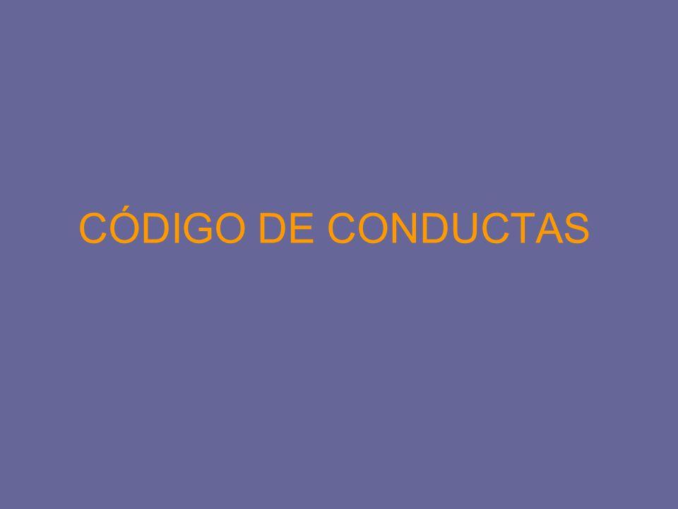 CÓDIGO DE CONDUCTAS