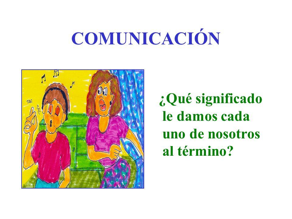 COMUNICACIÓN ¿ESO QUÉ ES.