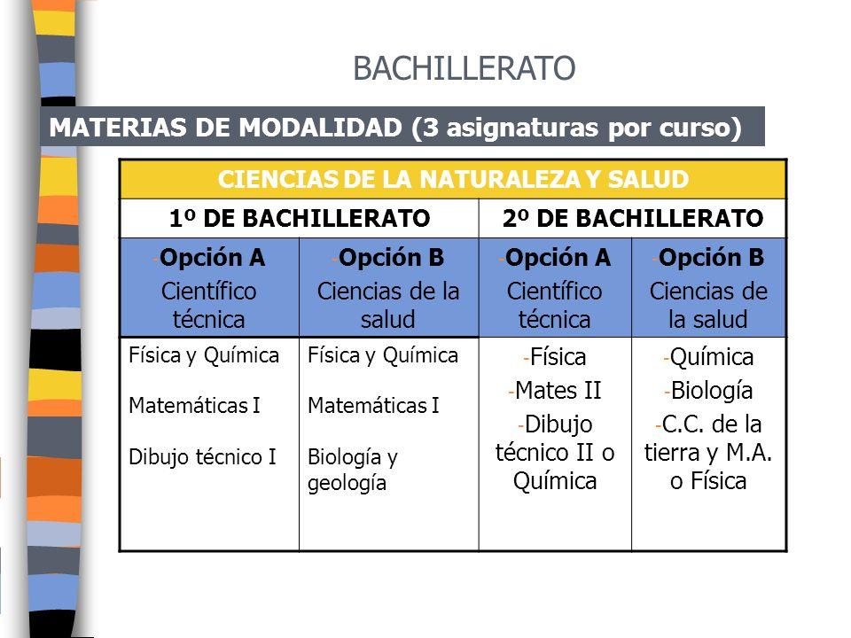 BACHILLERATO MATERIAS COMUNES 1º DE BACHILLERATO2º DE BACHILLERATO -Castellano: Lengua y Literatura I -Valenciano: Lengua y Literatura I -Filosofía I