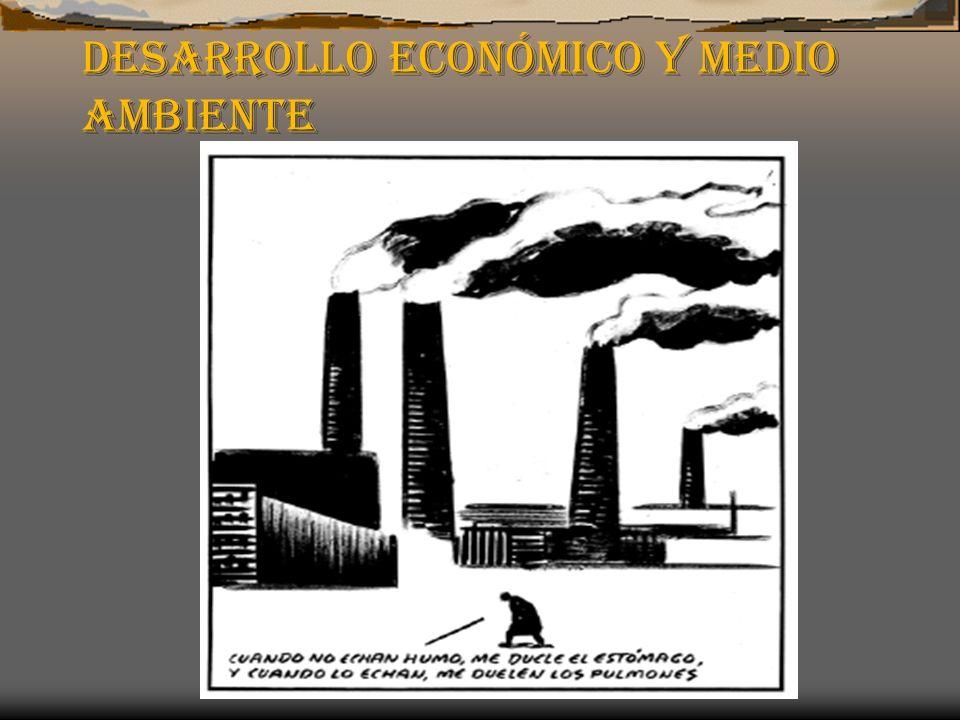 Desarrollo económico y Medio Ambiente