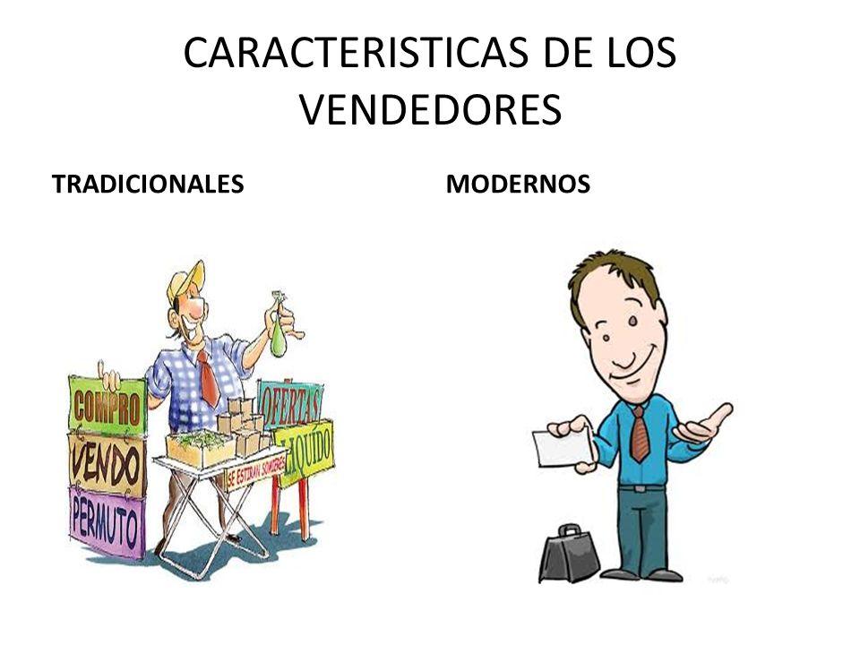 CARACTERISTICAS DE LOS COMPRADORES TRADICIONALESMODERNOS