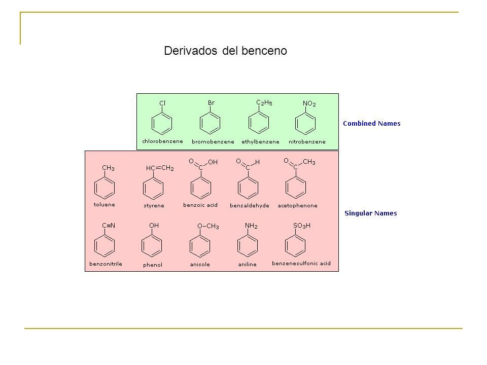Derivados del benceno