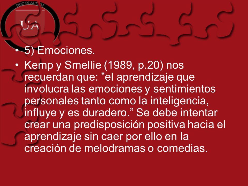 5) Emociones.