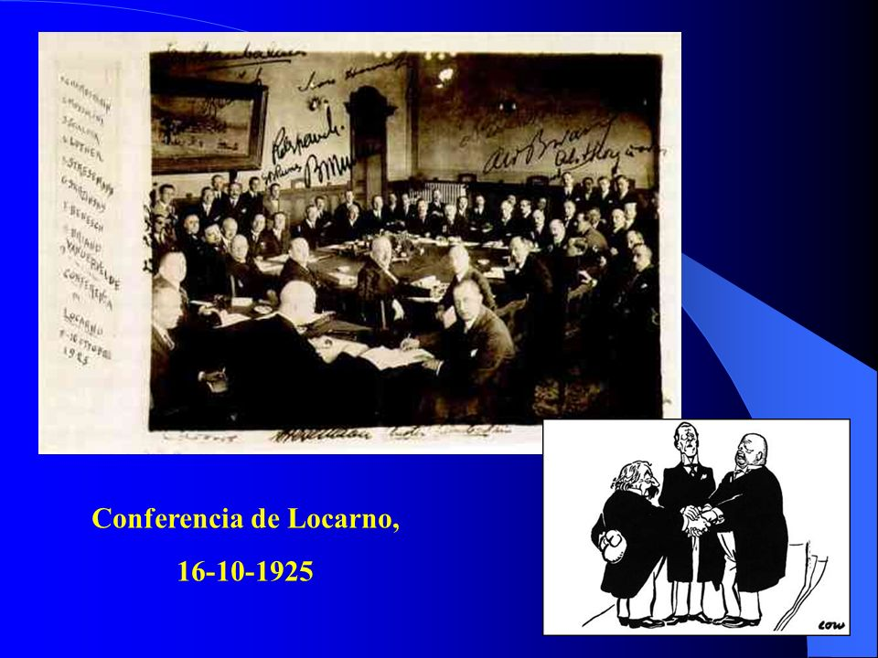 Conferencia de Locarno, 16-10-1925