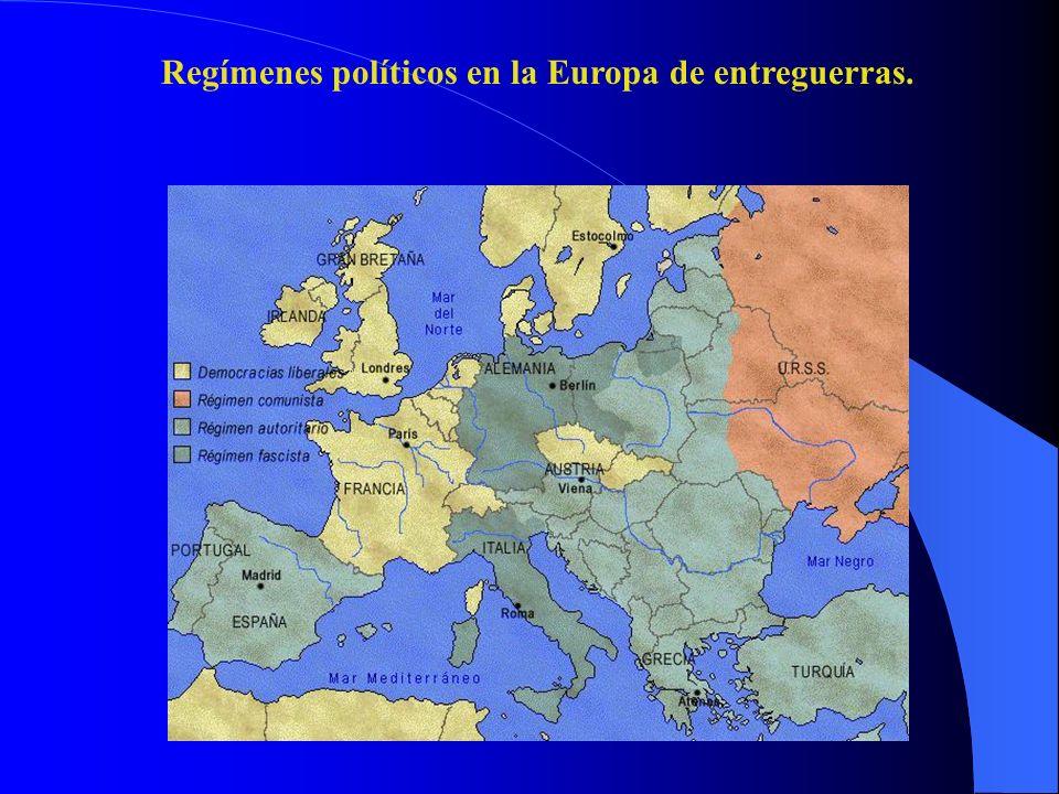 1.Francia (1919-1939). II. La crisis en los países de tradición democrática.