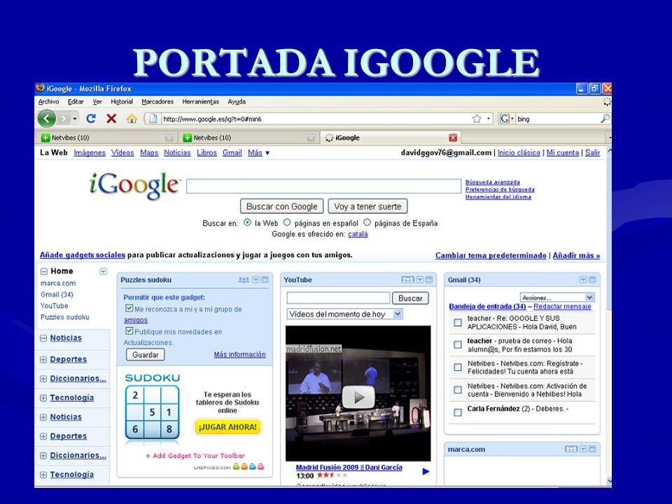 PORTADA IGOOGLE