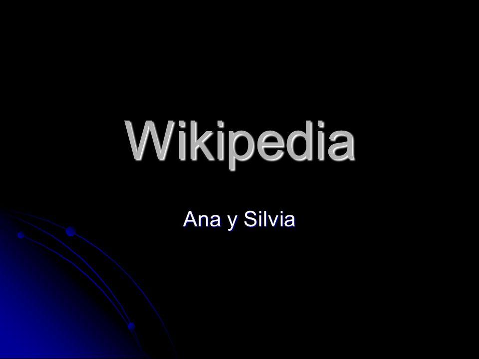 Wikipedia Ana y Silvia