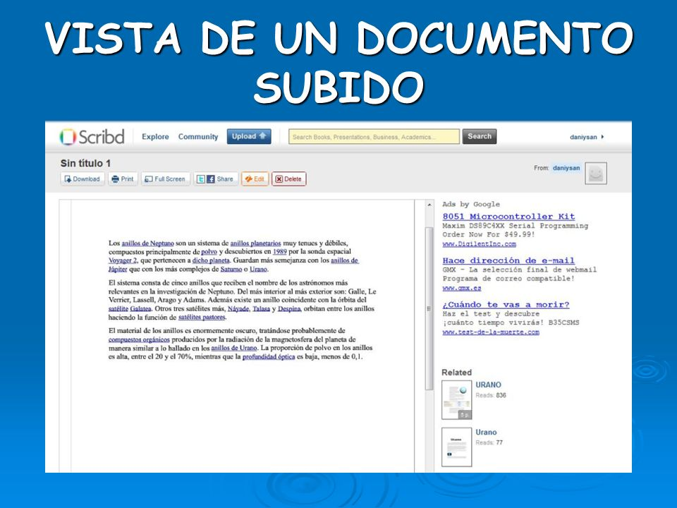 SUBIR DOCUMENTOS II