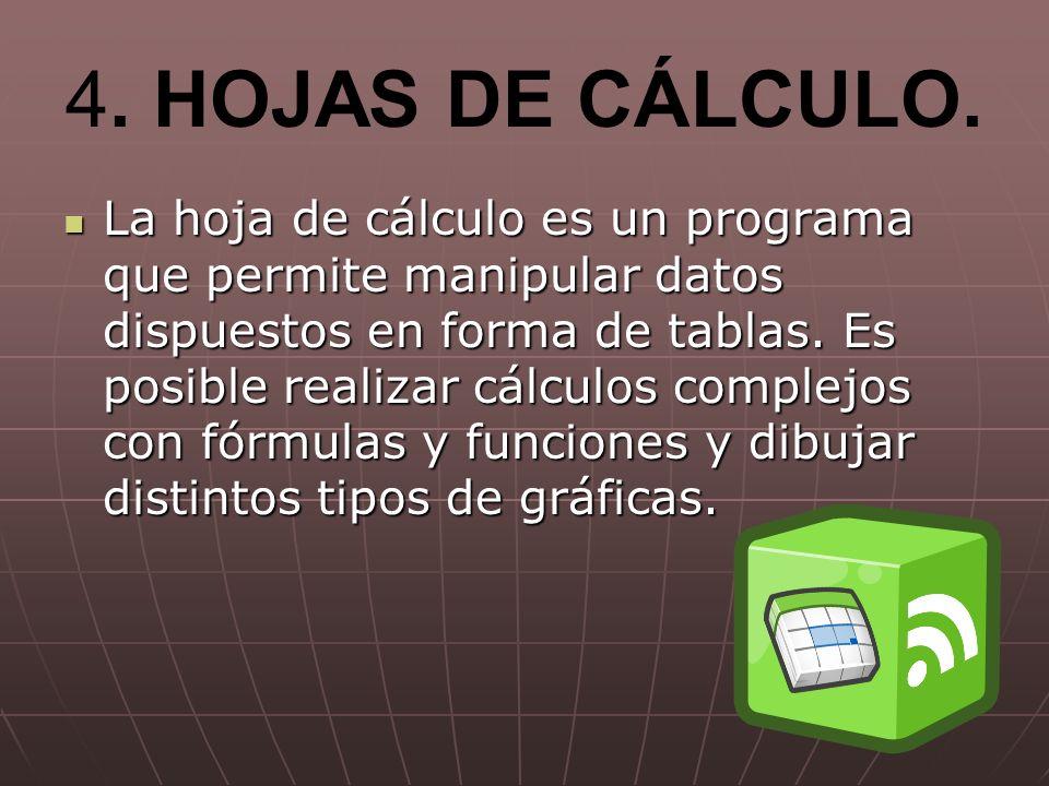 4.HOJAS DE CÁLCULO.