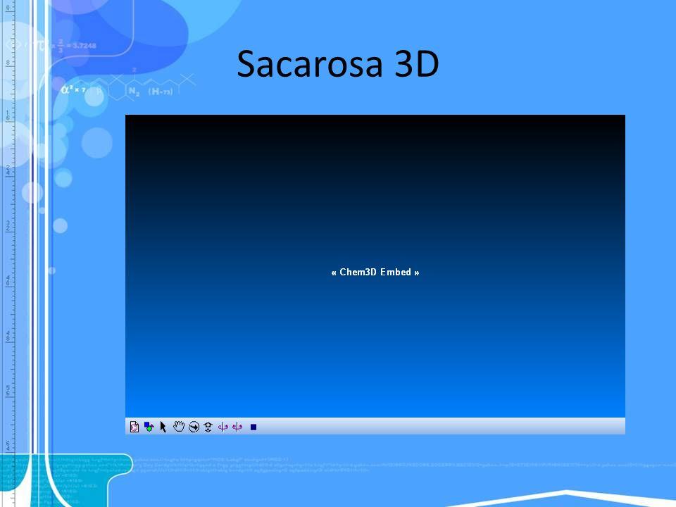 Sacarosa 3D