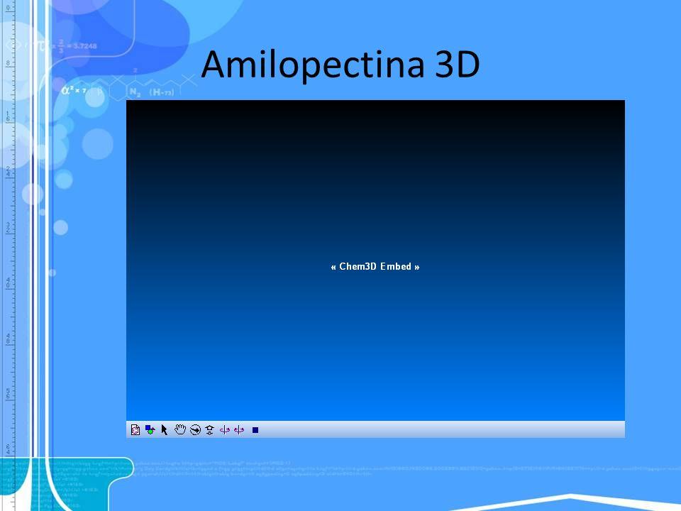 Amilopectina 3D
