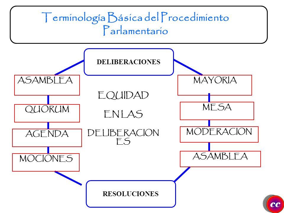 ETICAS ADMINISTRATIVAS REGLAMENTARIAS LEGALES INSTITUCIONALES SOCIALES cc Implicaciones del Procedimiento Parlamentario