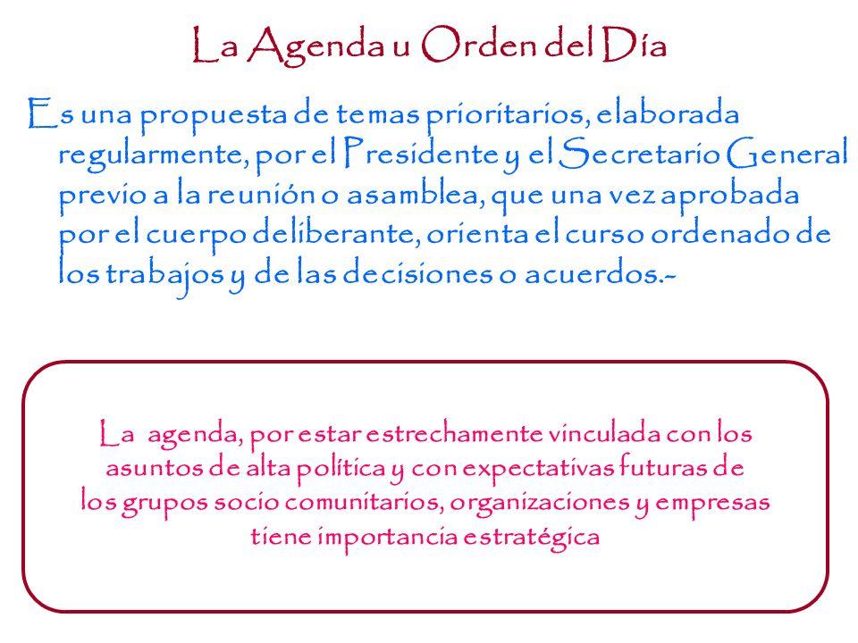 Observaciones en Torno al Quórum El Quórum varía de acuerdo con el tipo de asamblea: ordinaria o extraordinaria.- El Quórum puede estar asegurado al i