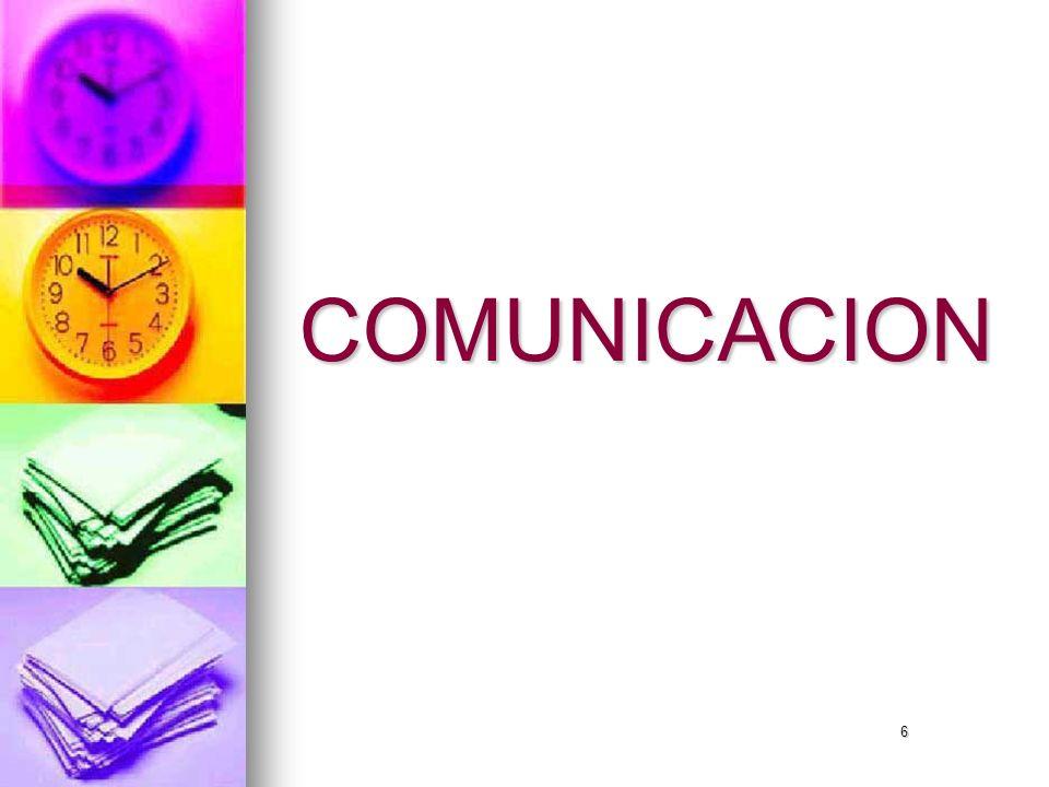 6 COMUNICACION