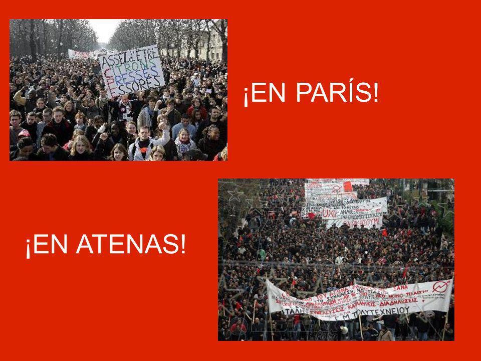 ¡EN PARÍS! ¡EN ATENAS!