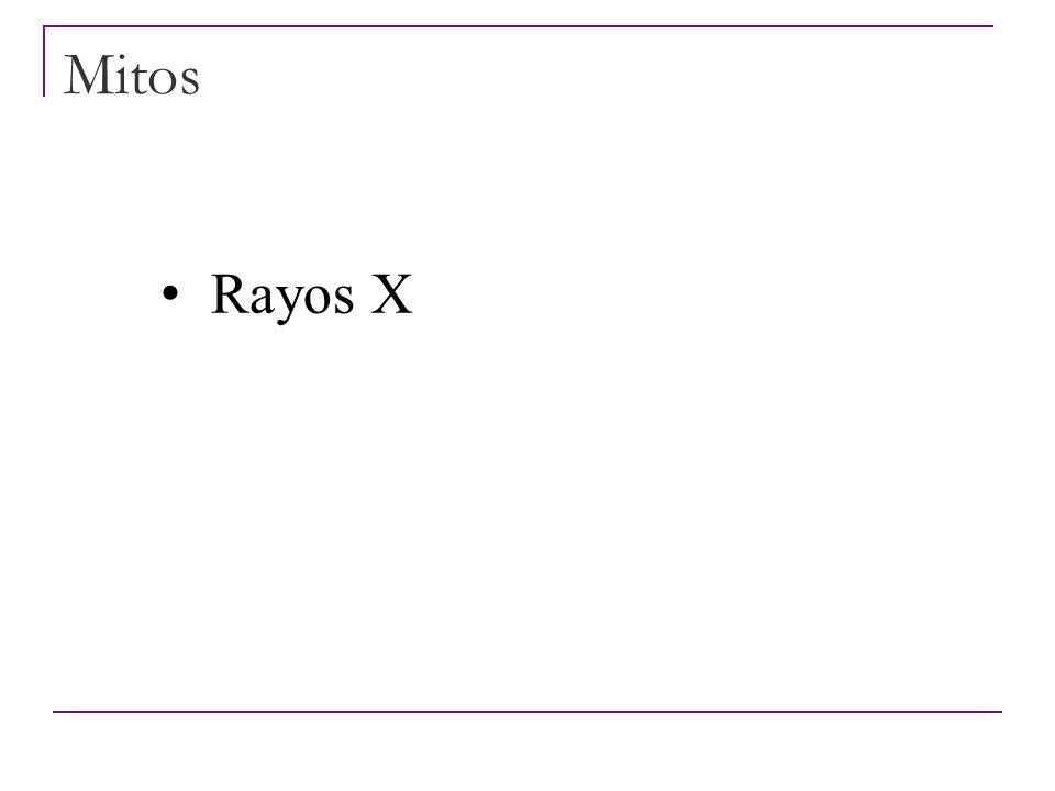 Mitos Rayos UVA