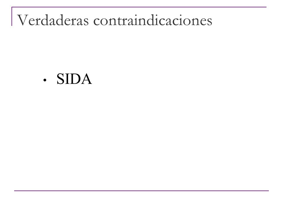 Verdaderas contraindicaciones Galactosemia