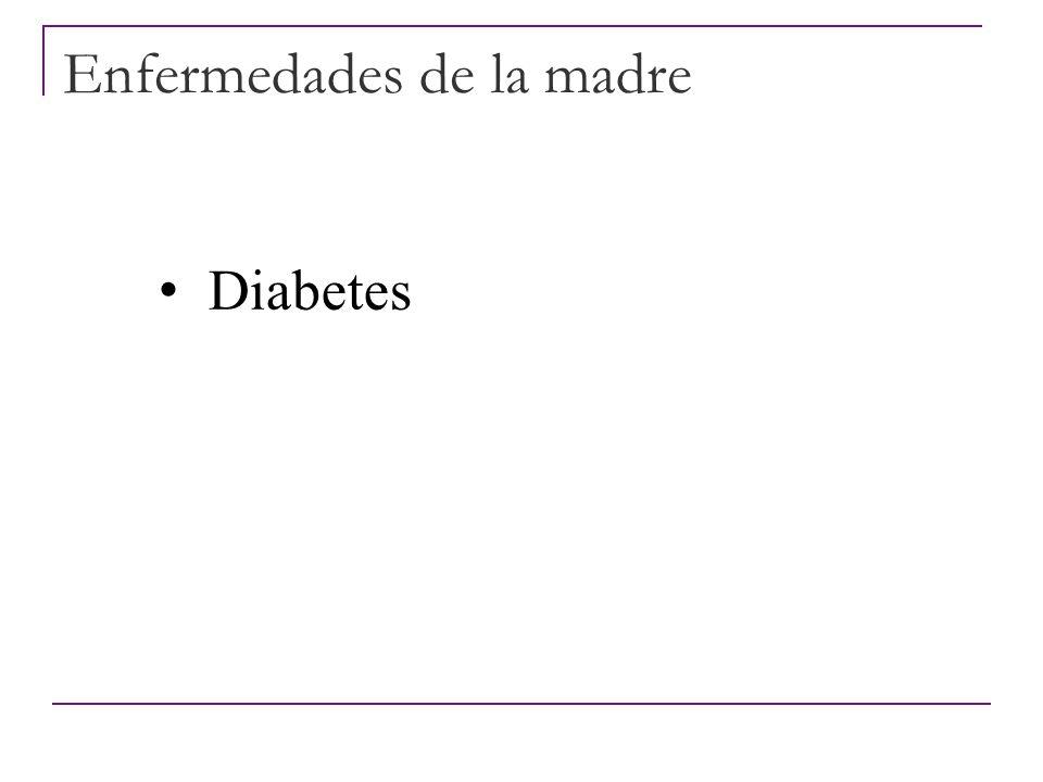Enfermedades de la madre Epilepsia