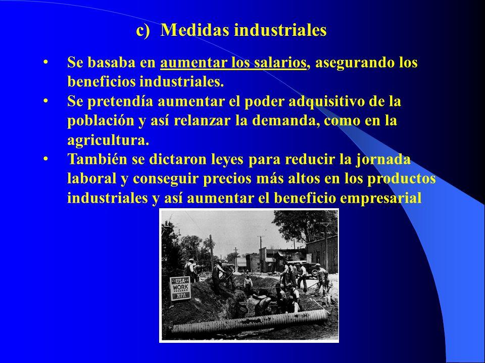 Se basaba en aumentar los salarios, asegurando los beneficios industriales. Se pretendía aumentar el poder adquisitivo de la población y así relanzar