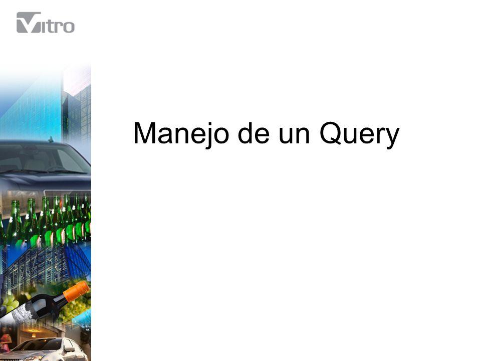 Barra de Herramientas (Bex) (10) Nos muestra opciones extra de visualización y análisis de nuestro Query.
