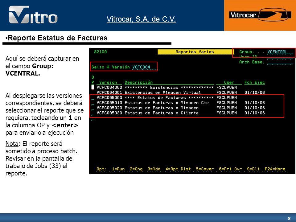 Vitrocar, S.A. de C.V. 9