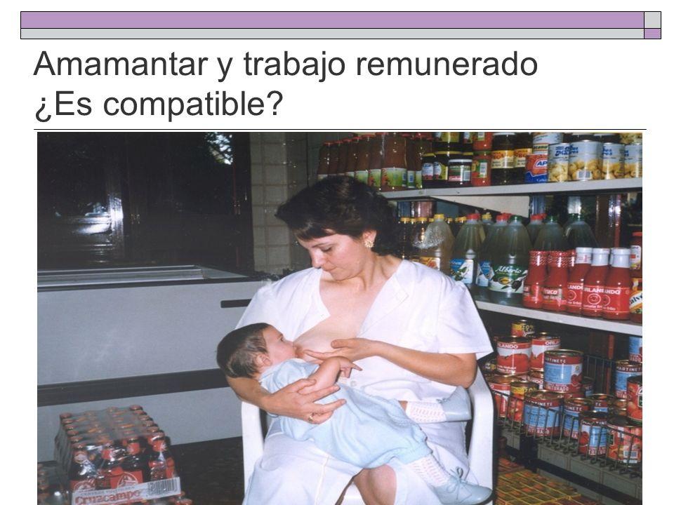+ Madres trabajadoras + Lactancia Materna